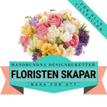 Låt floristen skapa en säsongsbukett i härliga färger! Ett alternativ hos Florister i Sverige.