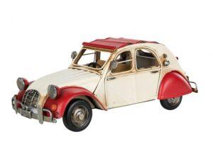 Modell av Citroen i retrolook. Du hittar bilen hos Sakligheter.
